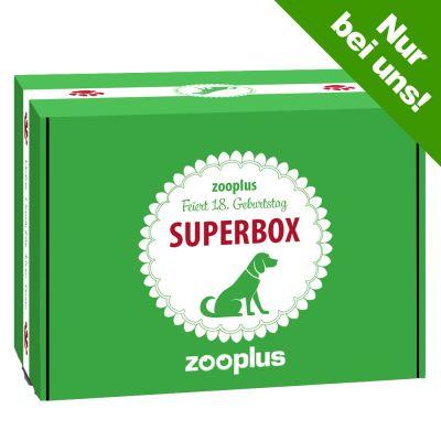 zooplus Superbox Hund - 18 Jahre zooplus!