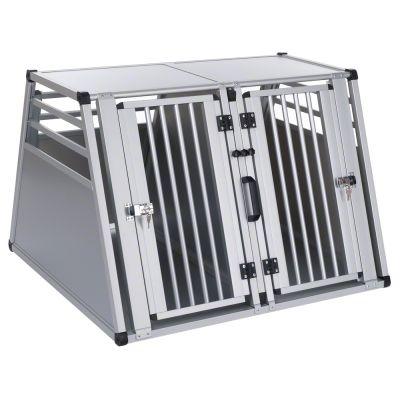 cage-de-transport-double-aluline-pour-chien