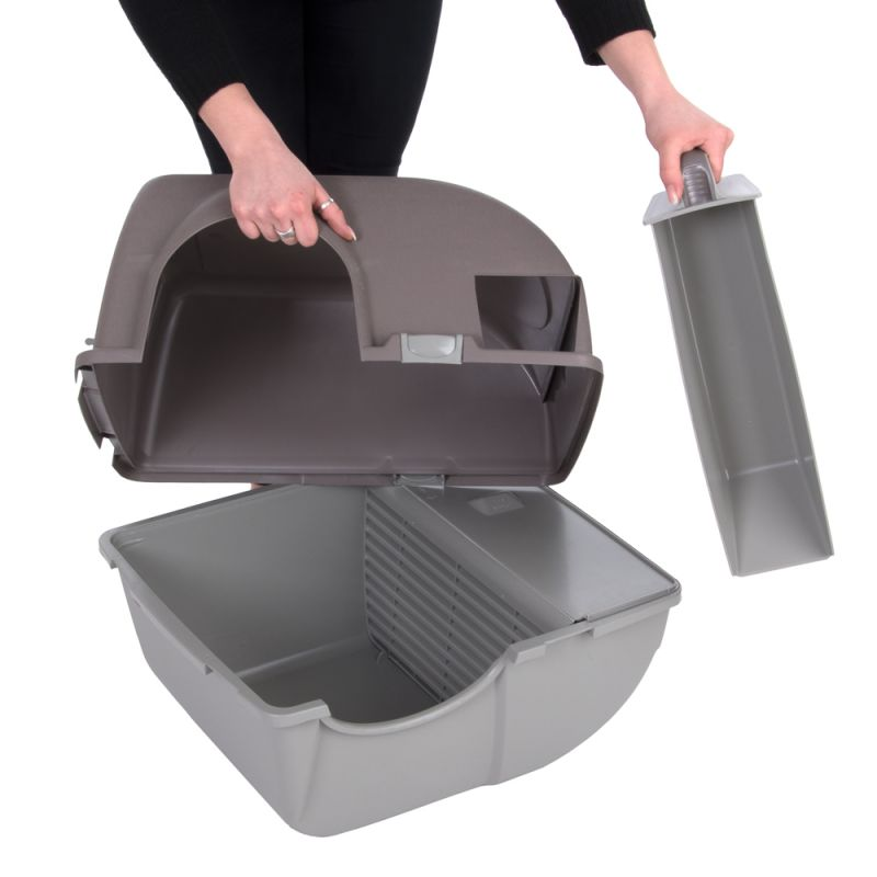 Roll And Clean Self Cleaning Litter Tray Box Hygienic Pet